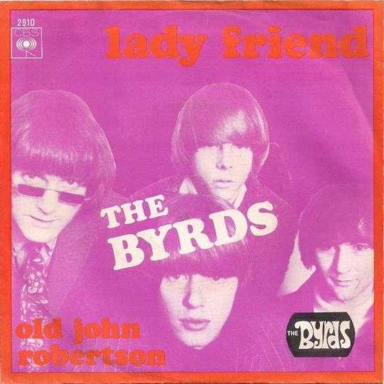 Coverafbeelding Lady Friend - The Byrds