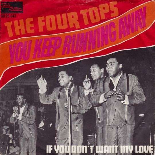 Coverafbeelding You Keep Running Away - The Four Tops