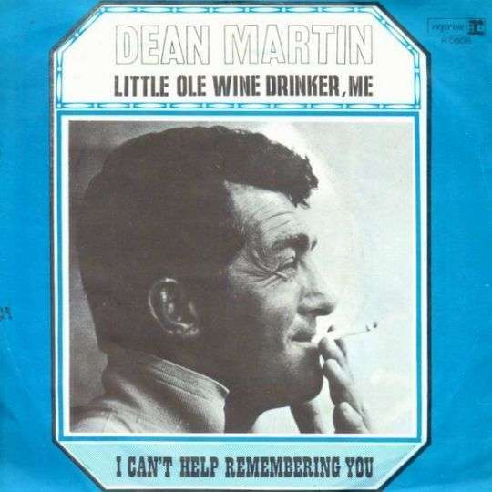 Coverafbeelding Little Ole Wine Drinker, Me - Dean Martin