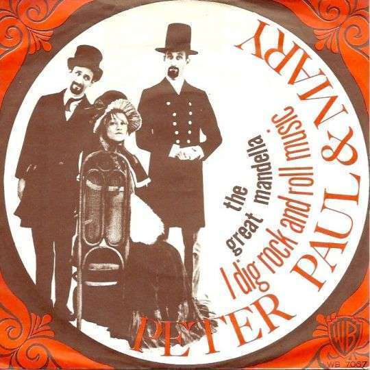 Coverafbeelding I Dig Rock And Roll Music - Peter Paul & Mary