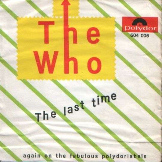 Coverafbeelding The Last Time - The Who