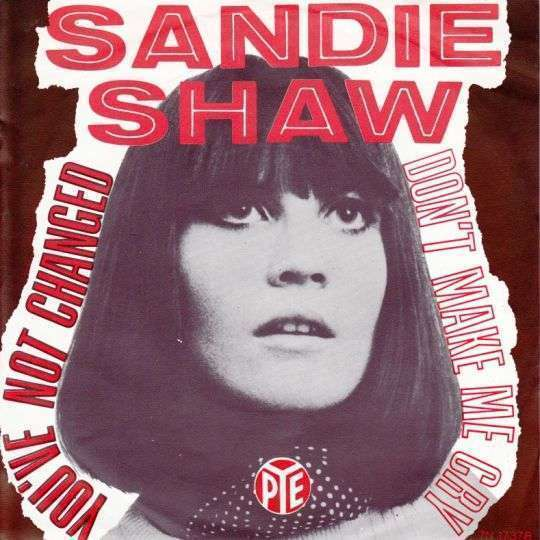 Coverafbeelding You've Not Changed - Sandie Shaw