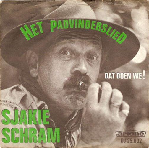 Coverafbeelding Het Padvinderslied - Sjakie Schram