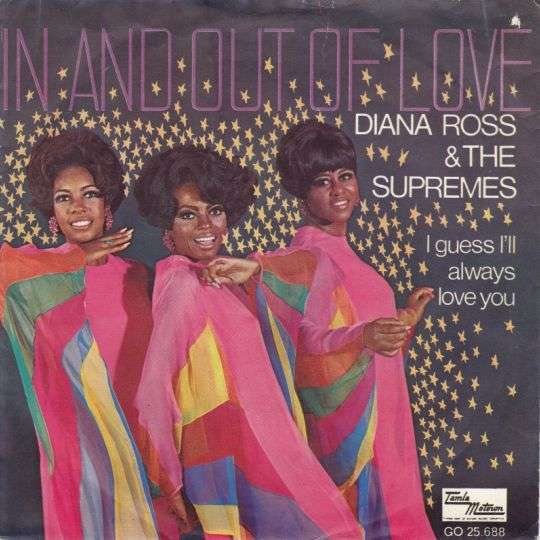 Coverafbeelding Diana Ross & The Supremes - In And Out Of Love