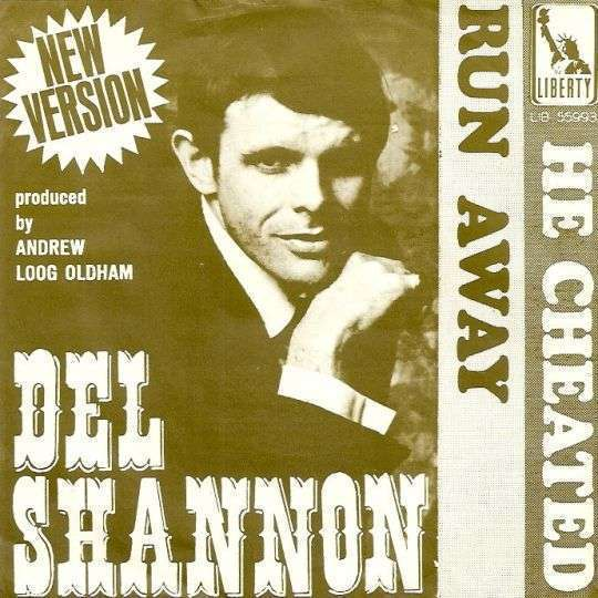Coverafbeelding Run Away - New Version - Del Shannon