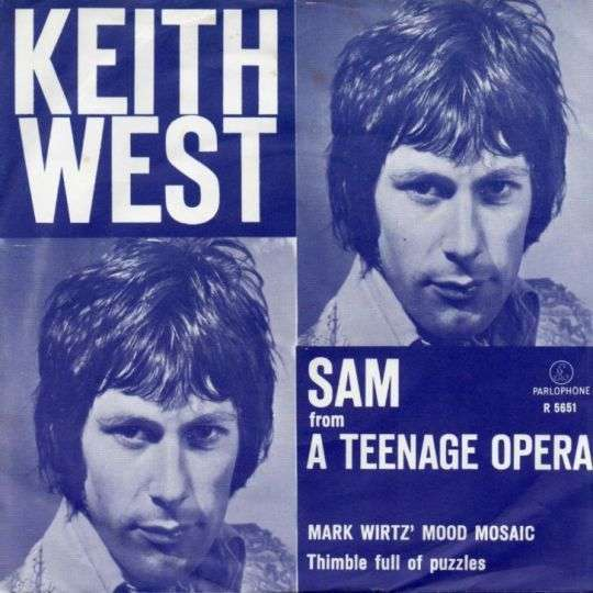 Coverafbeelding Sam - From A Teenage Opera - Keith West