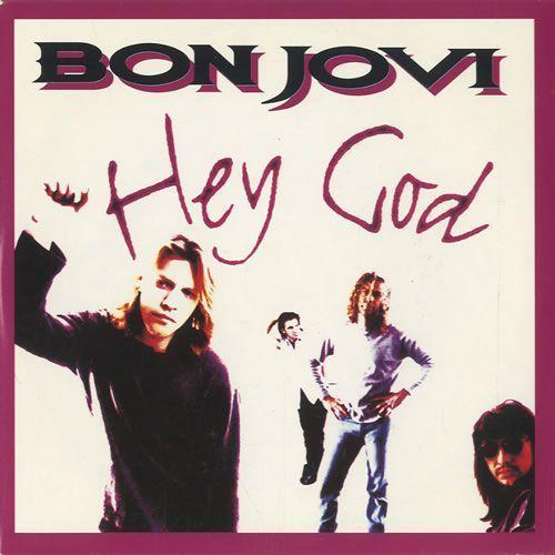Coverafbeelding Bon Jovi - Hey God