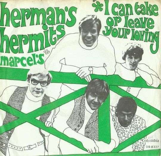 Coverafbeelding I Can Take Or Leave Your Loving - Herman's Hermits