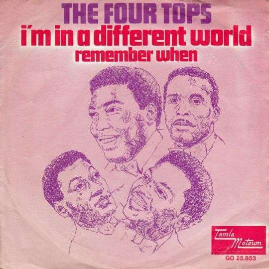 Coverafbeelding I'm In A Different World - The Four Tops