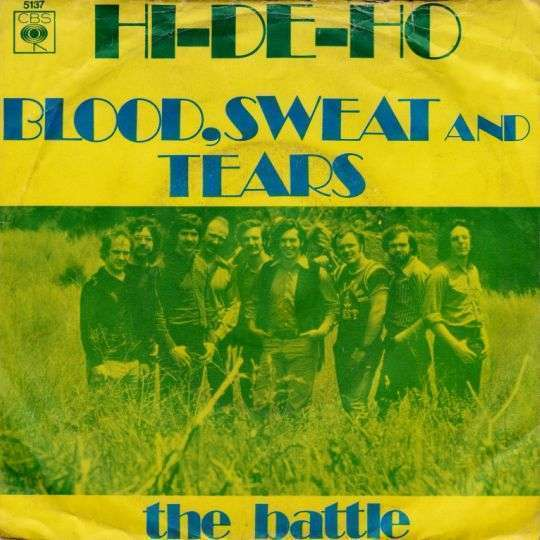 Coverafbeelding Blood, Sweat And Tears - Hi-De-Ho