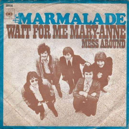 Coverafbeelding Wait For Me Mary-Anne - The Marmalade