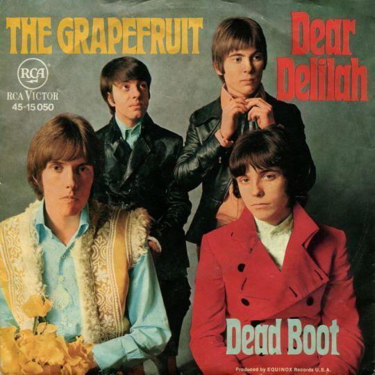 Coverafbeelding Dear Delilah - The Grapefruit