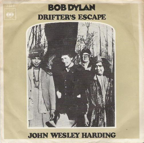 Coverafbeelding John Wesley Harding - Bob Dylan