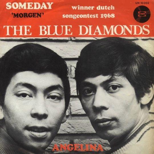 Coverafbeelding Someday - 'morgen' - The Blue Diamonds