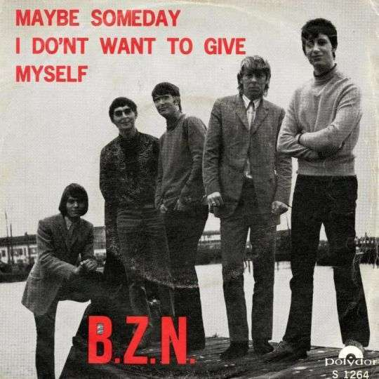 Coverafbeelding Maybe Someday - B.z.n.