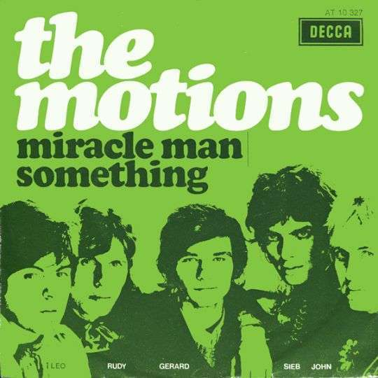 Coverafbeelding Miracle Man - The Motions