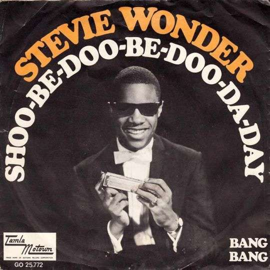 Coverafbeelding Shoo-be-doo-be-doo-da-day - Stevie Wonder