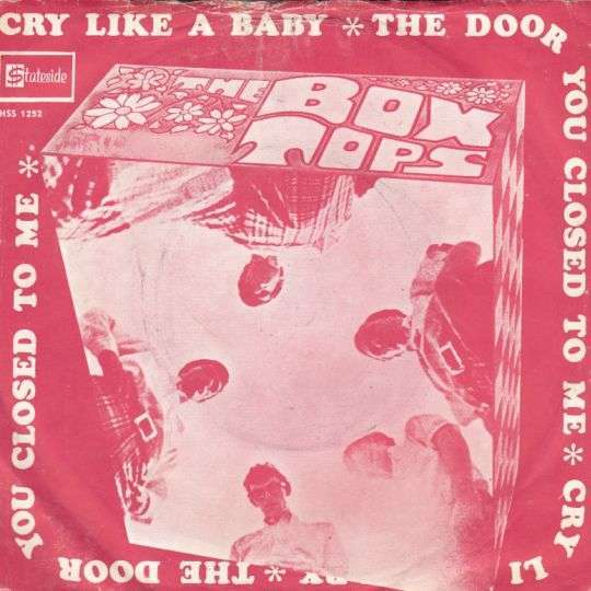 Coverafbeelding Cry Like A Baby - The Box Tops