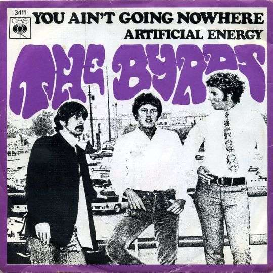 Coverafbeelding You Ain't Going Nowhere - The Byrds