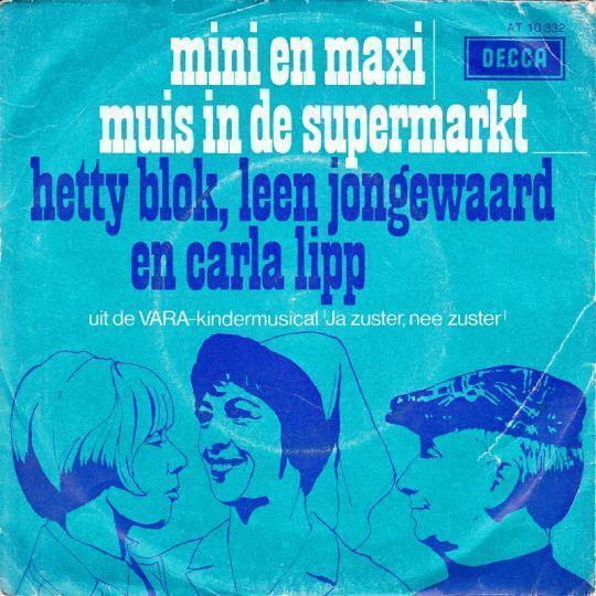 Coverafbeelding Mini En Maxi - Hetty Blok, Leen Jongewaard En Carla Lipp