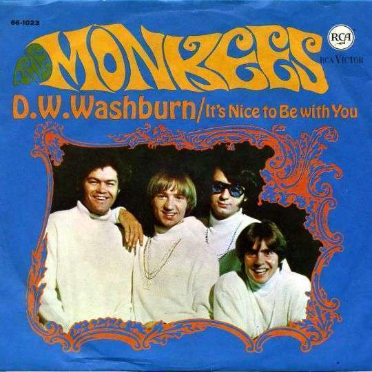 Coverafbeelding D.w.washburn/ It's Nice To Be With You - The Monkees