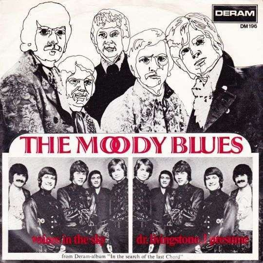 Coverafbeelding Voices In The Sky - The Moody Blues