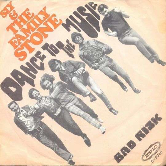 Coverafbeelding Dance To The Music - Sly & The Family Stone