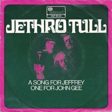 Coverafbeelding A Song For Jeffrey - Jethro Tull