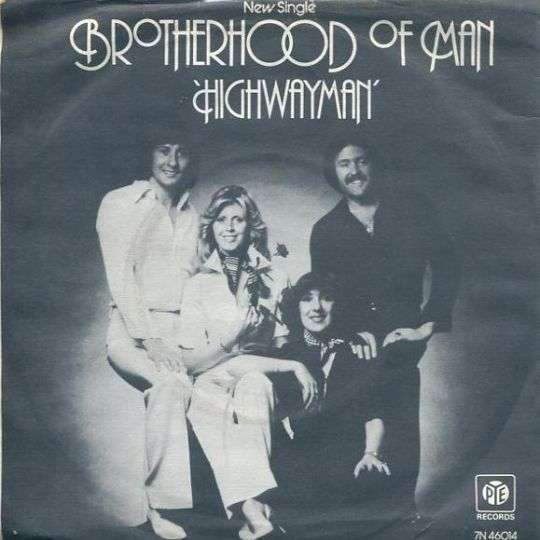 Coverafbeelding Brotherhood Of Man - Highwayman
