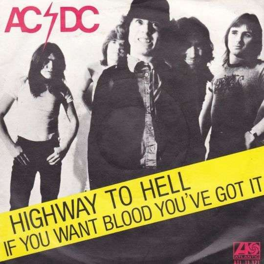 Coverafbeelding Highway To Hell - Ac/dc