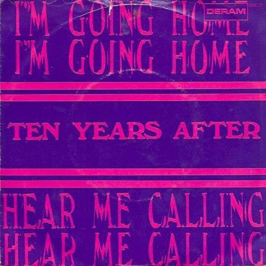 Coverafbeelding Ten Years After - Hear Me calling