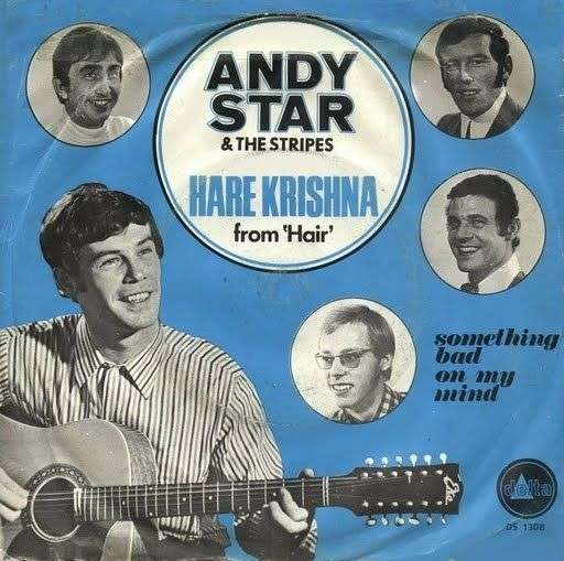 Coverafbeelding Hare Krishna - Andy Star & The Stripes