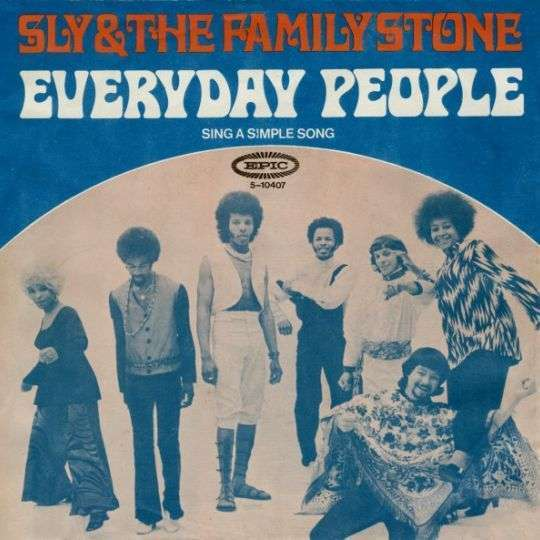 Coverafbeelding Everyday People - Sly & The Family Stone