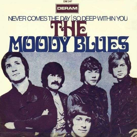 Coverafbeelding Never Comes The Day - The Moody Blues