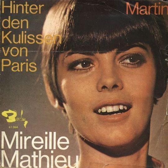 Coverafbeelding Hinter Den Kulissen Von Paris - Mireille Mathieu