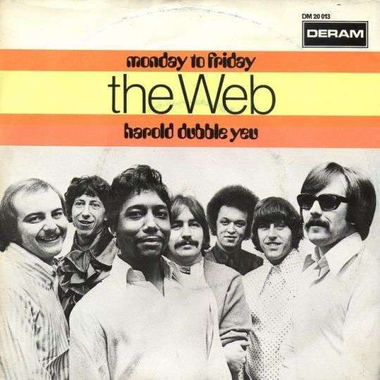 Coverafbeelding The Web - Monday To Friday