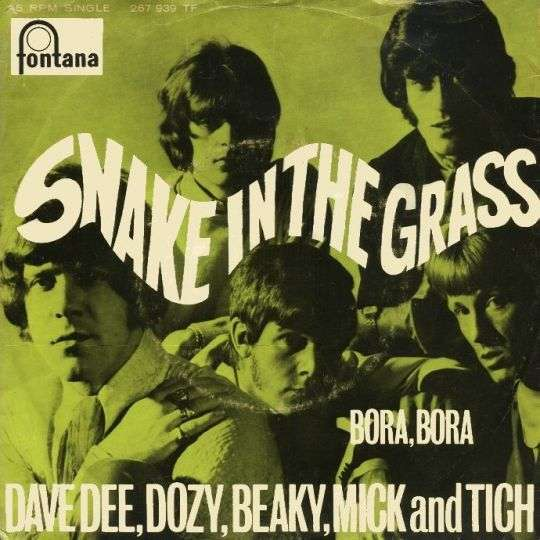 Coverafbeelding Snake In The Grass - Dave Dee, Dozy, Beaky, Mick And Tich