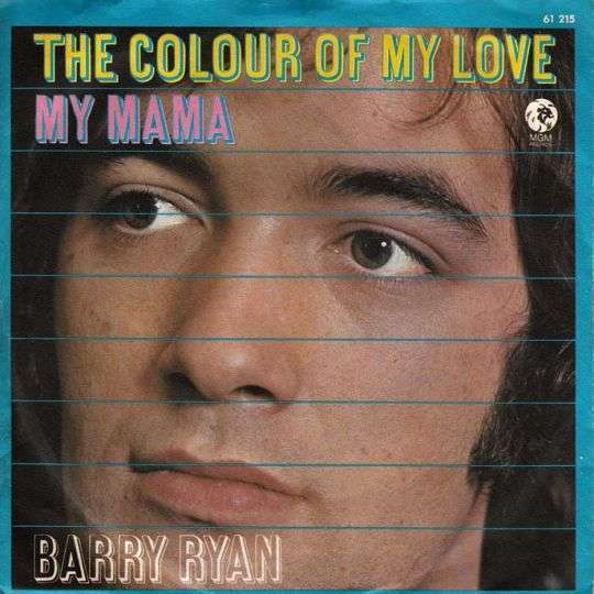Coverafbeelding My Mama - Barry Ryan