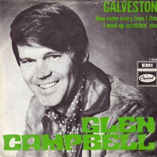 Coverafbeelding Galveston - Glen Campbell