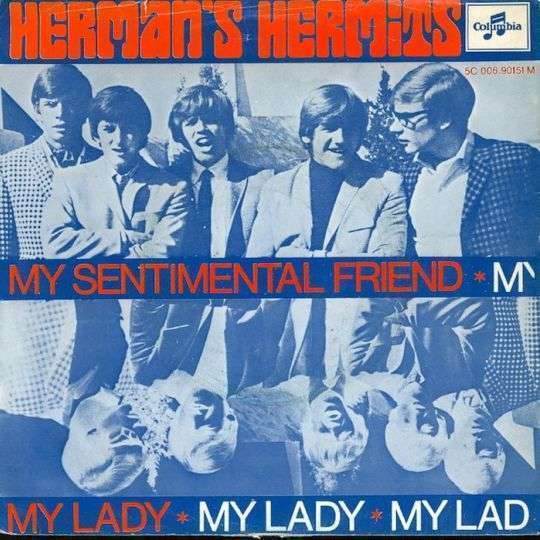 Coverafbeelding My Sentimental Friend - Herman's Hermits