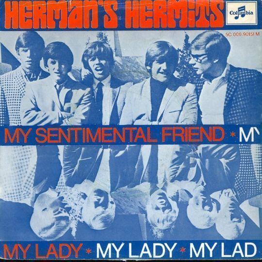Coverafbeelding Herman's Hermits - My Sentimental Friend