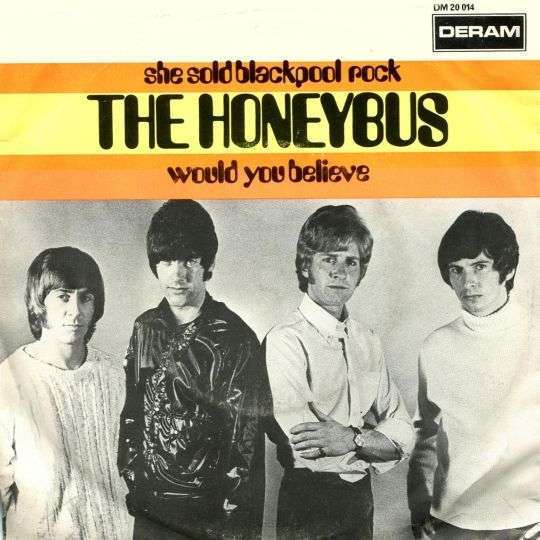 Coverafbeelding She Sold Blackpool Rock - The Honeybus
