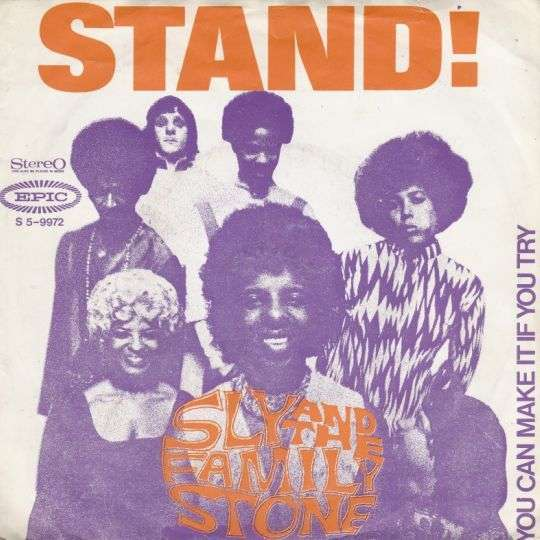 Coverafbeelding Sly and The Family Stone - Stand!