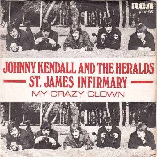 Coverafbeelding St. James Infirmary - Johnny Kendall And The Heralds