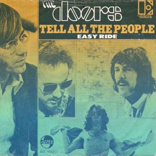 Coverafbeelding Tell All The People - The Doors