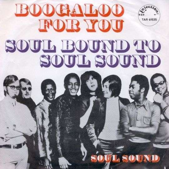 Coverafbeelding Soul Sound - Boogaloo For You