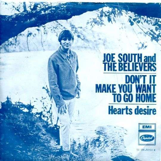 Coverafbeelding Hearts Desire - Joe South And The Believers