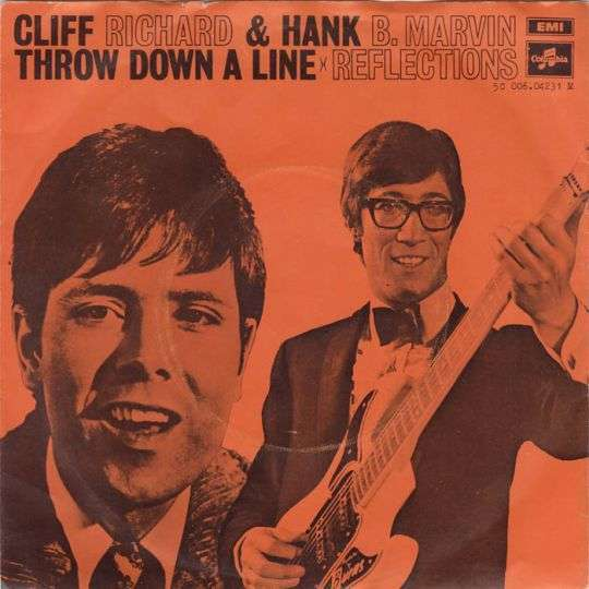Coverafbeelding Cliff Richard & Hank B. Marvin - Throw Down A Line
