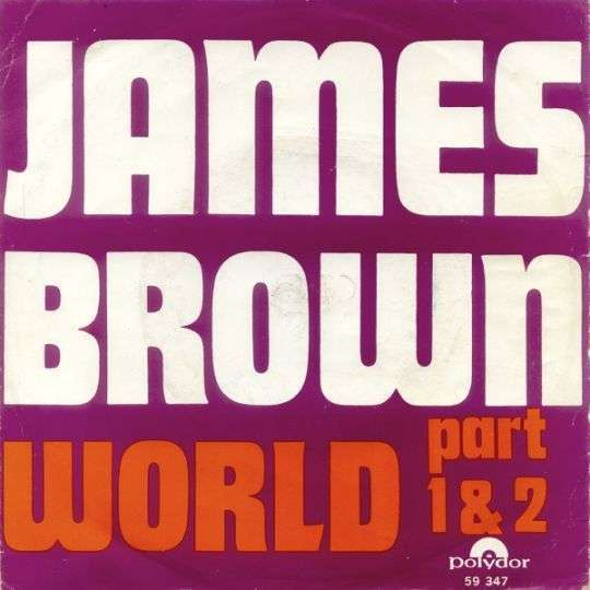 Coverafbeelding World - James Brown