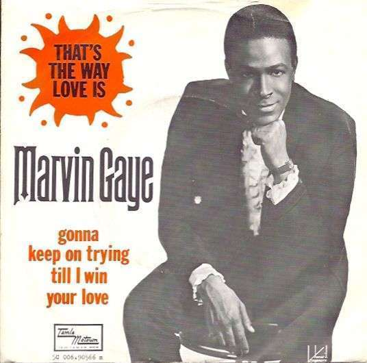 Coverafbeelding That's The Way Love Is - Marvin Gaye